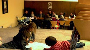 Concejo Abierto: asamblea y niños