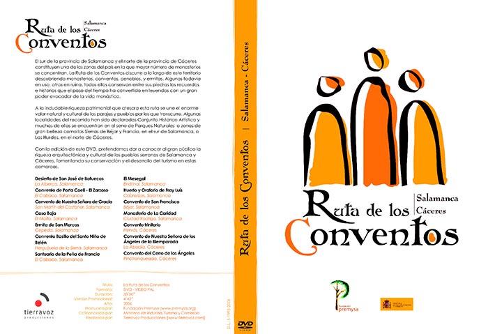 Ruta de los conventos: carátula