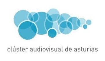 Logo clúster audiovisual de Asturias