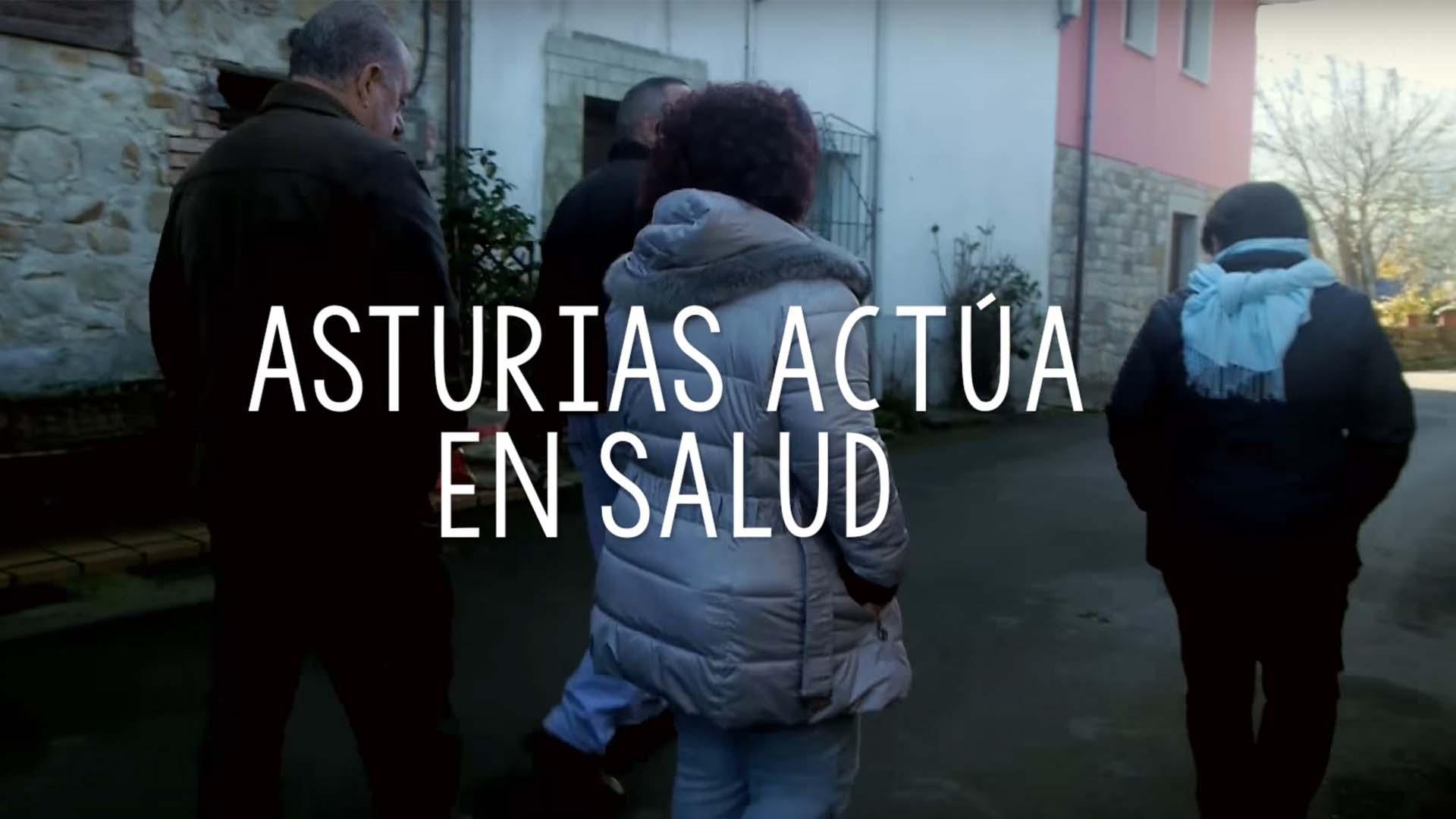 Frame audiovisual Asturias actúa en salud
