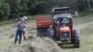 SOS Praderas: siega y tractor