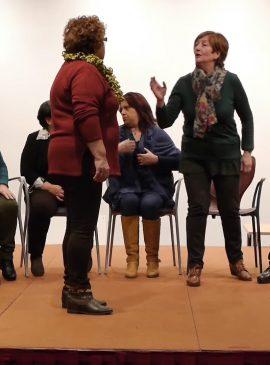 Personas sanas: grupo teatro